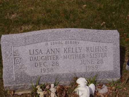 KELLY KUHNS, LISA ANN - Franklin County, Ohio | LISA ANN KELLY KUHNS - Ohio Gravestone Photos