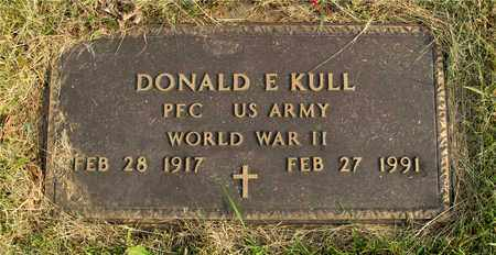 KULL, DONALD E. - Franklin County, Ohio | DONALD E. KULL - Ohio Gravestone Photos