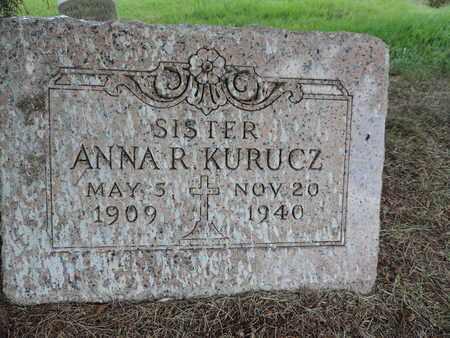 KURUCZ, ANNA R. - Franklin County, Ohio | ANNA R. KURUCZ - Ohio Gravestone Photos
