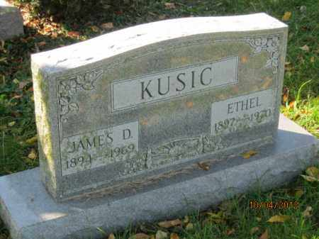 KUSIC, ETHEL - Franklin County, Ohio | ETHEL KUSIC - Ohio Gravestone Photos