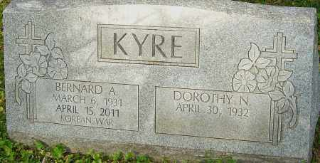 KYRE, BERNARD - Franklin County, Ohio | BERNARD KYRE - Ohio Gravestone Photos