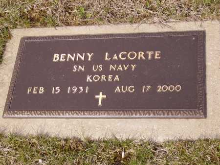 LA CORTE, BENNY - MILITARY - Franklin County, Ohio | BENNY - MILITARY LA CORTE - Ohio Gravestone Photos
