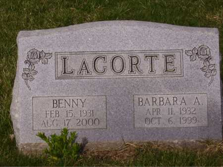 LA CORTE, BARBARA A. - Franklin County, Ohio | BARBARA A. LA CORTE - Ohio Gravestone Photos