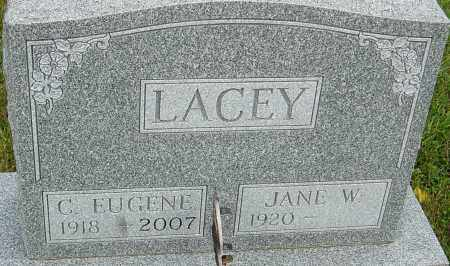LACEY, C EUGENE - Franklin County, Ohio | C EUGENE LACEY - Ohio Gravestone Photos