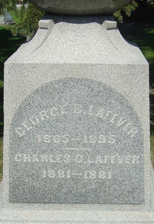LAFEVER, GEORGE B - Franklin County, Ohio | GEORGE B LAFEVER - Ohio Gravestone Photos