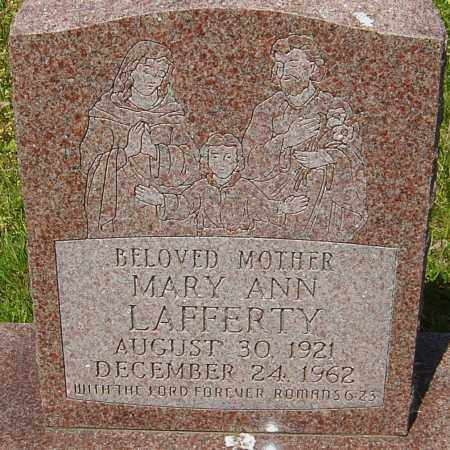 LAFFERTY, MARY ANN - Franklin County, Ohio | MARY ANN LAFFERTY - Ohio Gravestone Photos