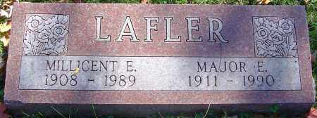 LAFLER, MAJOR E - Franklin County, Ohio | MAJOR E LAFLER - Ohio Gravestone Photos