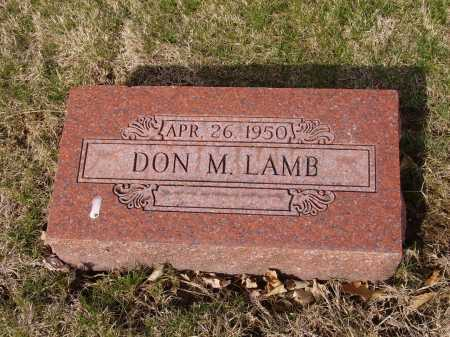 LAMB, DON M. - Franklin County, Ohio | DON M. LAMB - Ohio Gravestone Photos