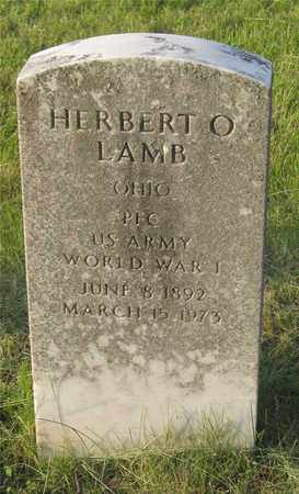 LAMB, HERBERT O. - Franklin County, Ohio | HERBERT O. LAMB - Ohio Gravestone Photos