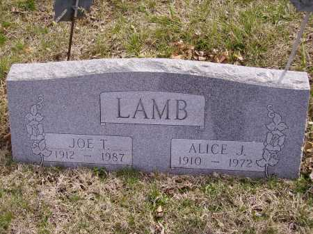 LAMB, JOE T. - Franklin County, Ohio | JOE T. LAMB - Ohio Gravestone Photos