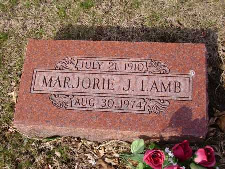LAMB, MARJORIE J. - Franklin County, Ohio | MARJORIE J. LAMB - Ohio Gravestone Photos