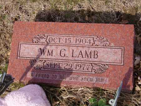 LAMB, WM. G. - Franklin County, Ohio | WM. G. LAMB - Ohio Gravestone Photos