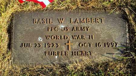 LAMBERT, BASIL W. - Franklin County, Ohio | BASIL W. LAMBERT - Ohio Gravestone Photos
