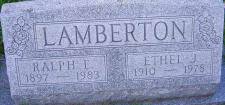 LAMBERTON, ETHEL - Franklin County, Ohio | ETHEL LAMBERTON - Ohio Gravestone Photos