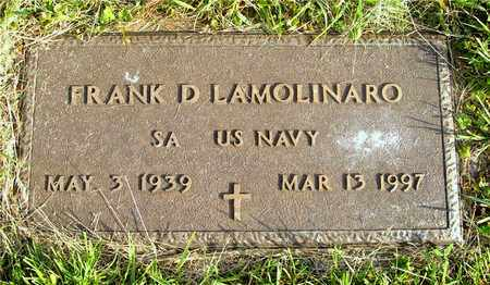 LAMOLINARO, FRANK D. - Franklin County, Ohio | FRANK D. LAMOLINARO - Ohio Gravestone Photos
