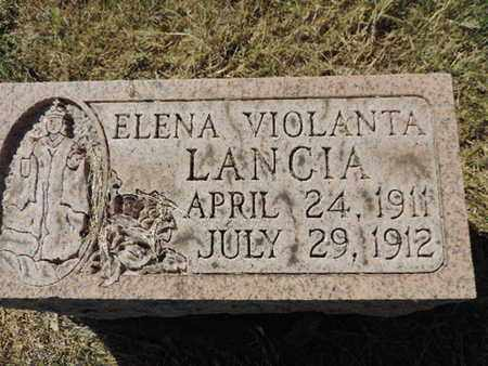 LANCIA, ELENA - Franklin County, Ohio | ELENA LANCIA - Ohio Gravestone Photos