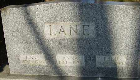 LANE, JESSE - Franklin County, Ohio | JESSE LANE - Ohio Gravestone Photos