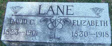 LANE, ELIZABETH - Franklin County, Ohio | ELIZABETH LANE - Ohio Gravestone Photos