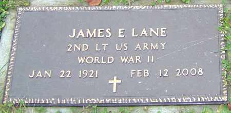LANE, JAMES E - Franklin County, Ohio | JAMES E LANE - Ohio Gravestone Photos