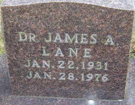 LANE, JAMES A - Franklin County, Ohio | JAMES A LANE - Ohio Gravestone Photos