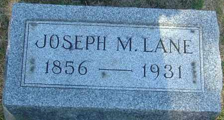 LANE, JOSEPH MCKEEVER - Franklin County, Ohio | JOSEPH MCKEEVER LANE - Ohio Gravestone Photos