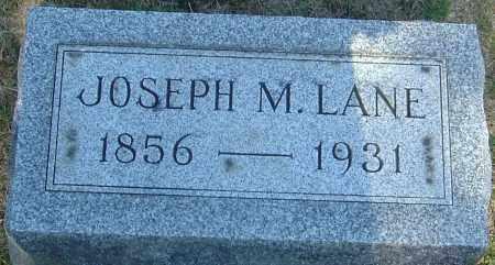 LANE, JOSEPH MCKEEVER - Franklin County, Ohio | JOSEPH MCKEEVER LANE - Ohio Gravestone Photos