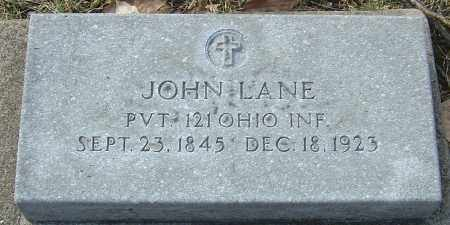 LANE, JOHN - Franklin County, Ohio | JOHN LANE - Ohio Gravestone Photos