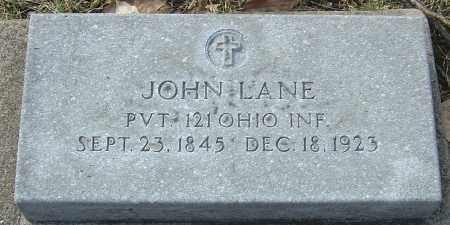 LANE, JOHN - Franklin County, Ohio   JOHN LANE - Ohio Gravestone Photos
