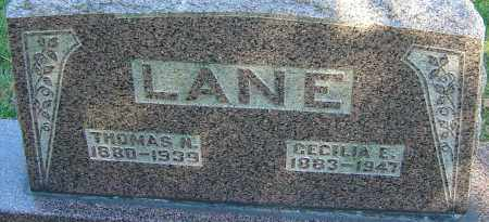 LANE, THOMAS N - Franklin County, Ohio | THOMAS N LANE - Ohio Gravestone Photos