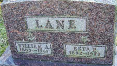 LANE, ESTA E - Franklin County, Ohio | ESTA E LANE - Ohio Gravestone Photos