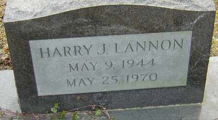 LANNON, HARRY J - Franklin County, Ohio | HARRY J LANNON - Ohio Gravestone Photos