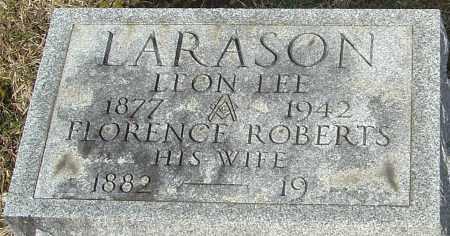 ROBERTS LARASON, FLORENCE - Franklin County, Ohio | FLORENCE ROBERTS LARASON - Ohio Gravestone Photos