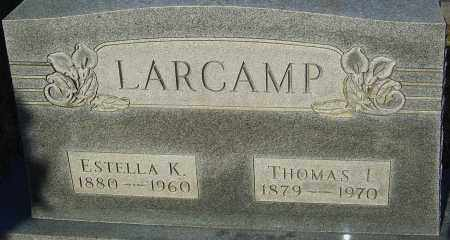 LARCAMP, THOMAS - Franklin County, Ohio | THOMAS LARCAMP - Ohio Gravestone Photos