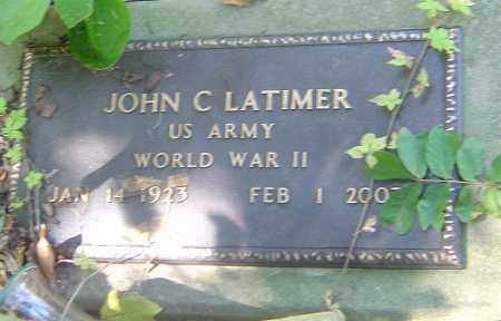 LATIMER, JOHN C - Franklin County, Ohio | JOHN C LATIMER - Ohio Gravestone Photos
