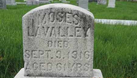 LAVALLEY, MOSES - Franklin County, Ohio | MOSES LAVALLEY - Ohio Gravestone Photos