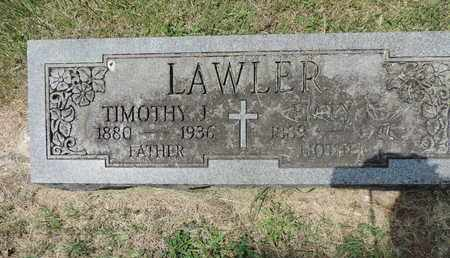 LAWLER, TIMOTHY J. - Franklin County, Ohio | TIMOTHY J. LAWLER - Ohio Gravestone Photos