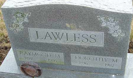 LAWLESS, RAYMOND M - Franklin County, Ohio | RAYMOND M LAWLESS - Ohio Gravestone Photos