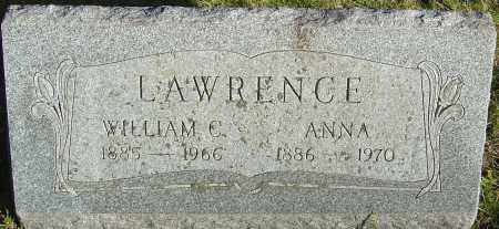 LAWRENCE, WILLIAM C - Franklin County, Ohio | WILLIAM C LAWRENCE - Ohio Gravestone Photos