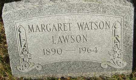 WATSON LAWSON, MARGARET - Franklin County, Ohio | MARGARET WATSON LAWSON - Ohio Gravestone Photos