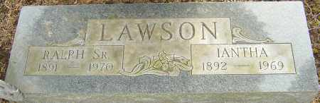 LAWSON, IANTHA - Franklin County, Ohio | IANTHA LAWSON - Ohio Gravestone Photos