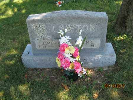 LAWTON, JAMES ALYOUSIS - Franklin County, Ohio | JAMES ALYOUSIS LAWTON - Ohio Gravestone Photos