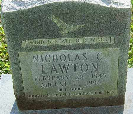 LAWTON, NICHOLAS - Franklin County, Ohio | NICHOLAS LAWTON - Ohio Gravestone Photos