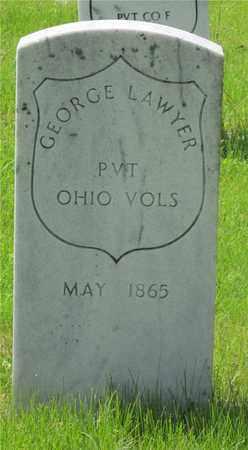 LAWYER, GEORGE - Franklin County, Ohio | GEORGE LAWYER - Ohio Gravestone Photos
