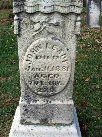 LEADY, JOHN - Franklin County, Ohio | JOHN LEADY - Ohio Gravestone Photos