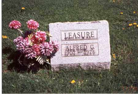 LEASURE, ALFRED G. - Franklin County, Ohio | ALFRED G. LEASURE - Ohio Gravestone Photos