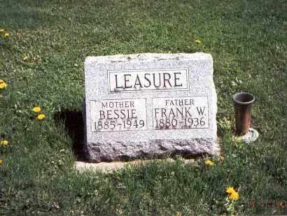 LEASURE, FRANK W. - Franklin County, Ohio | FRANK W. LEASURE - Ohio Gravestone Photos