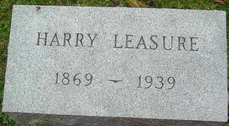 LEASURE, HARRY - Franklin County, Ohio | HARRY LEASURE - Ohio Gravestone Photos