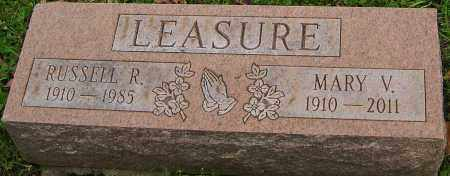 LEASURE, RUSSELL - Franklin County, Ohio | RUSSELL LEASURE - Ohio Gravestone Photos