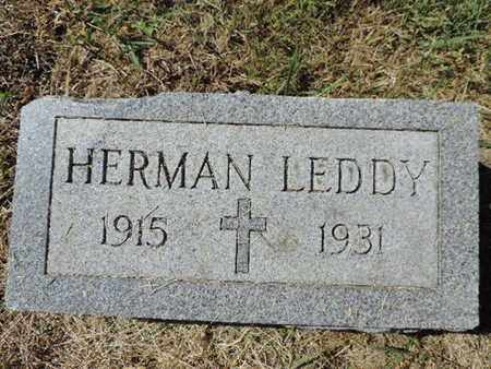 LEDDY, HERMAN - Franklin County, Ohio | HERMAN LEDDY - Ohio Gravestone Photos