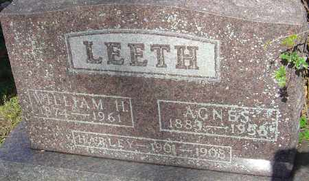 LEETH, HARLEY - Franklin County, Ohio | HARLEY LEETH - Ohio Gravestone Photos
